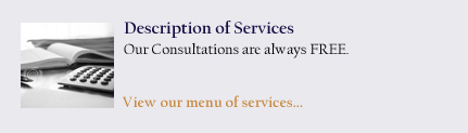 Description of Services